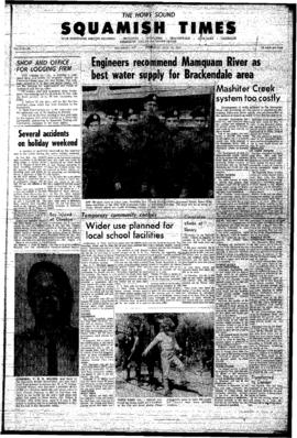 Squamish Times: Thursday, July 15, 1965