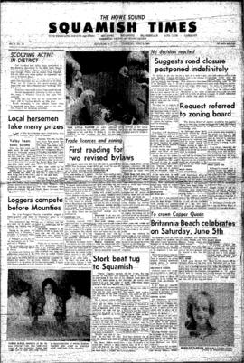 Squamish Times: Thursday, June 3, 1965