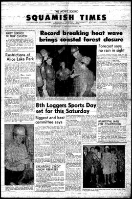 Squamish Times: Thursday, August 5, 1965