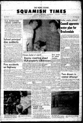 Squamish Times: Thursday, July 22, 1965