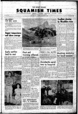 Squamish Times: Thursday, September 9, 1965