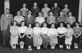 Class picture, 1948 - 1949
