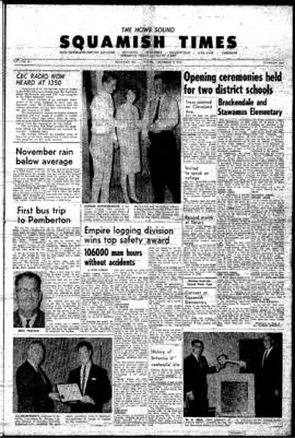 Squamish Times: Thursday, December 9, 1965