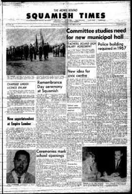 Squamish Times: Thursday, November 18, 1965