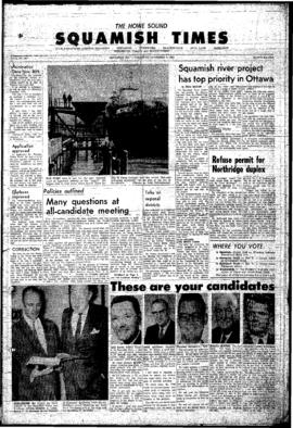 Squamish Times: Thursday, November 4, 1965