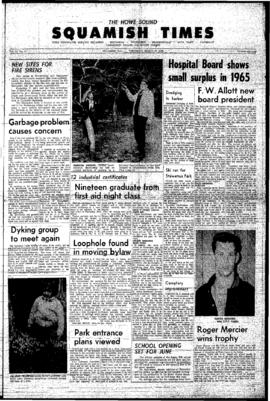 Squamish Times: Thursday, March 31, 1966