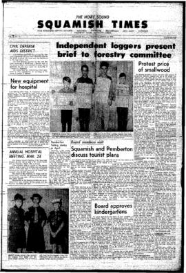 Squamish Times: Thursday, March 17, 1966
