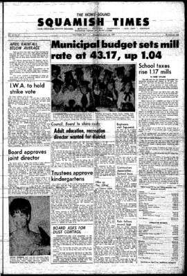 Squamish Times: Thursday, May 12, 1966