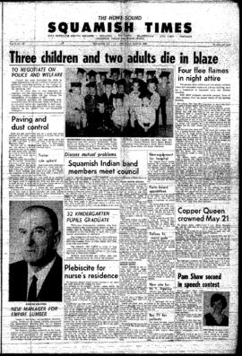 Squamish Times: Thursday, May 19, 1966