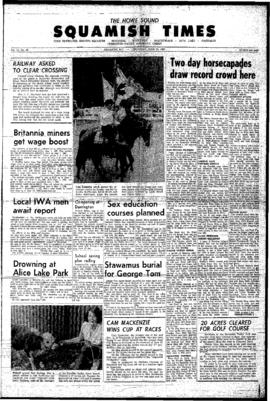 Squamish Times: Thursday, June 23, 1966