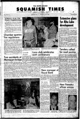 Squamish Times: Thursday, May 26, 1966