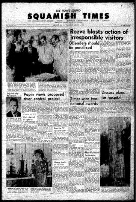 Squamish Times: Thursday, August 4, 1966
