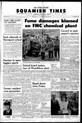 Squamish Times: Thursday, July 21, 1966