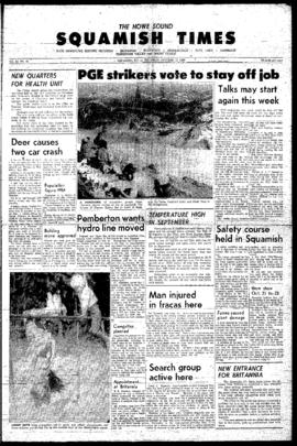 Squamish Times: Thursday, October 13, 1966