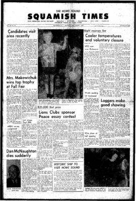 Squamish Times: Thursday, September 1, 1966