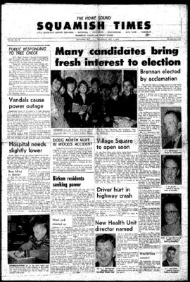 Squamish Times: Thursday, December 1, 1966