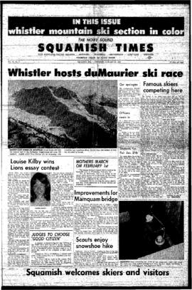 Squamish Times: Thursday, January 26, 1967