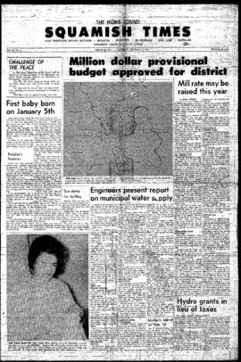 Squamish Times: Thursday, January 12, 1967