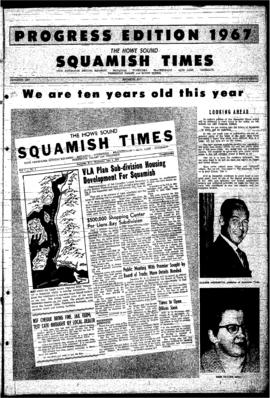 Squamish Times Progress Edition: December, 1967