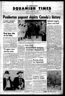 Squamish Times: Thursday, February 23, 1967
