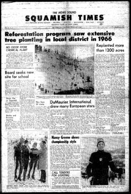 Squamish Times: Thursday, February 2, 1967