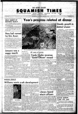 Squamish Times: Thursday, February 16, 1967