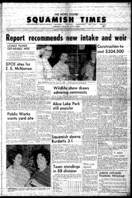 Squamish Times: Thursday, February 9, 1967