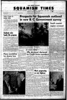 Squamish Times: Thursday, March 30, 1967