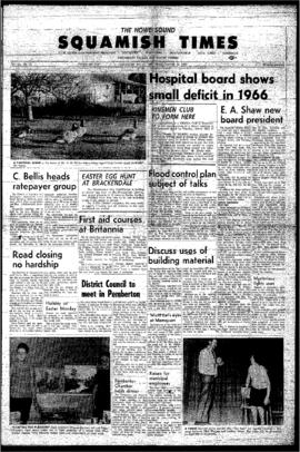 Squamish Times: Thursday, March 23, 1967