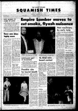 Squamish Times: Thursday, April 27, 1967