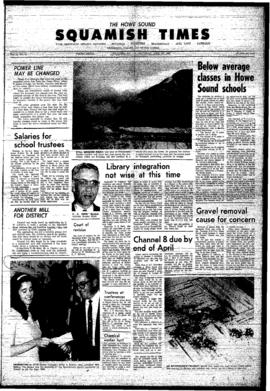 Squamish Times: Thursday, April 20, 1967