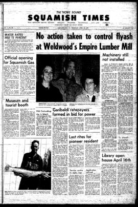 Squamish Times: Thursday, April 13, 1967
