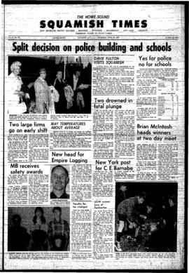 Squamish Times: Thursday, June 15, 1967