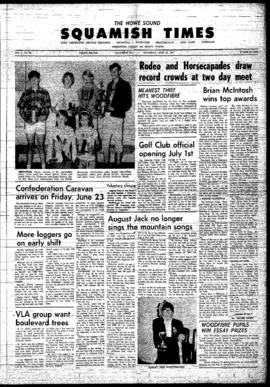 Squamish Times: Thursday, June 22, 1967