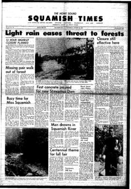 Squamish Times: Thursday, August 24, 1967