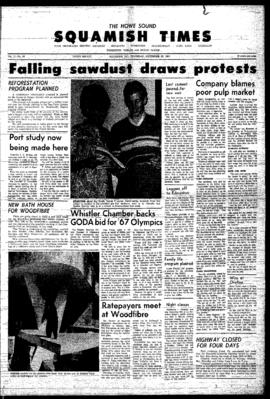 Squamish Times: Thursday, September 28, 1967