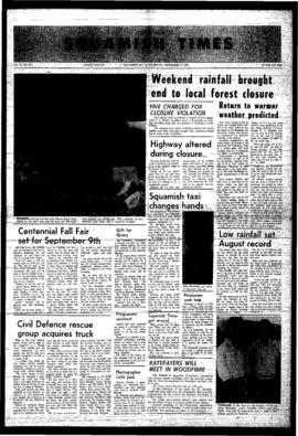 Squamish Times: Thursday, September 7, 1967