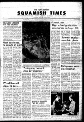 Squamish Times: Thursday, August 31, 1967