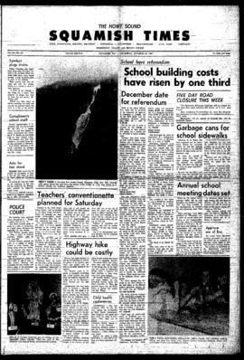 Squamish Times: Thursday, October 19, 1967