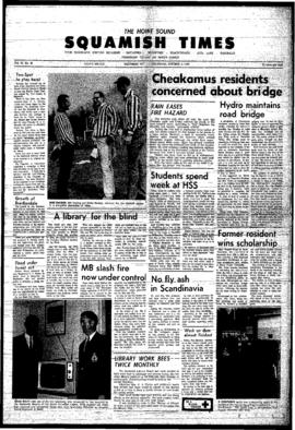 Squamish Times: Thursday, October 5, 1967