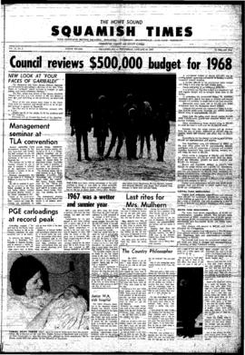Squamish Times: Wednesday, January 10, 1968
