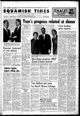 Squamish Times: Wednesday, February 21, 1968