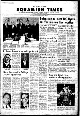 Squamish Times: Wednesday, April 24, 1968