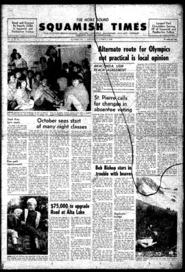 Squamish Times: Wednesday, October 2, 1968