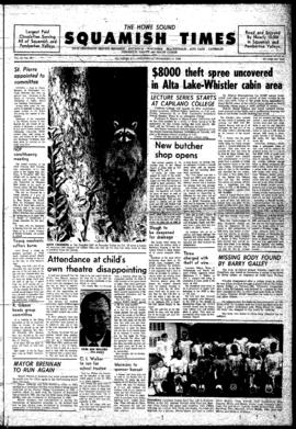 Squamish Times: Wednesday, November 13, 1968