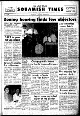 Squamish Times: Wednesday, October 23, 1968
