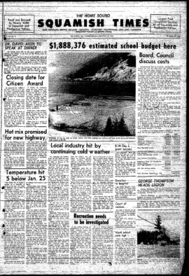 Squamish Times: Wednesday, January 29, 1969