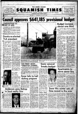 Squamish Times: Wednesday, January 22, 1969