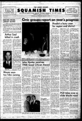 Squamish Times: Wednesday, February 19, 1969