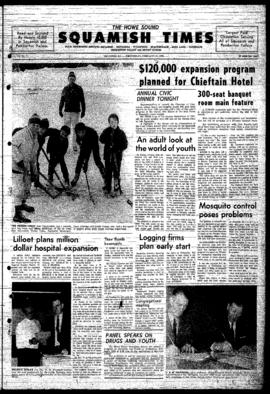 Squamish Times: Wednesday, February 12, 1969